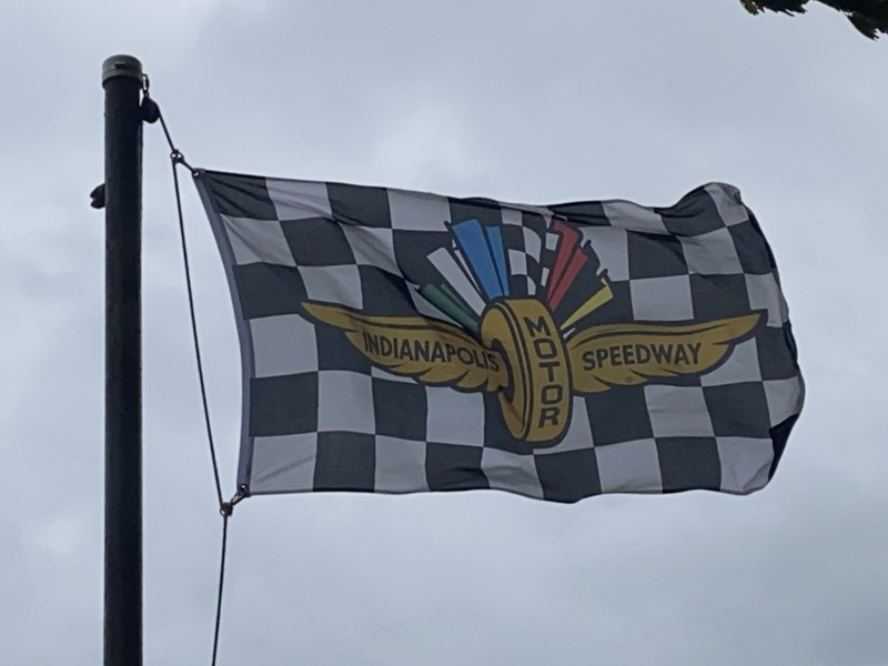 August 23, 2020 — Indianapolis Motor Speedway Flag