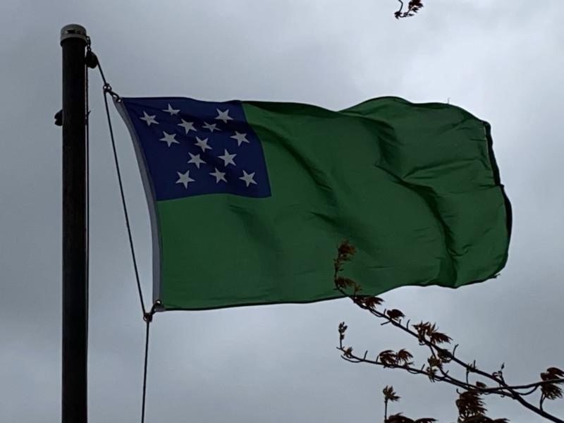 May 10, 1775 — Green Mountain Boys Flag