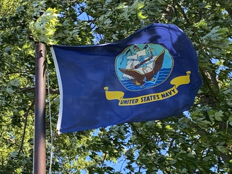 June 4, 1942 — U.S. Navy Flag