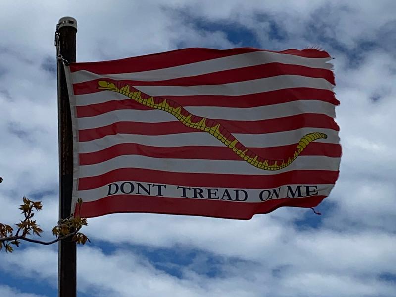 May 4-8, 1942 — Navy Jack Flag