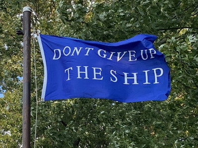 September 10, 1813 — Commodore Perry Battle Flag