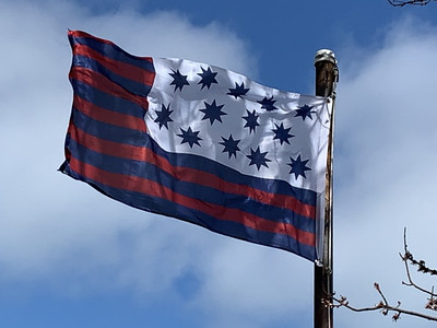 March 15, 1781 — Battle of Guilford Courthouse Flag