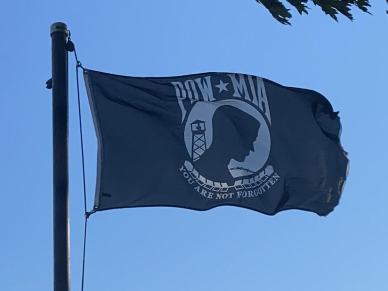 August 1, 2020 — POW-MIA Flag
