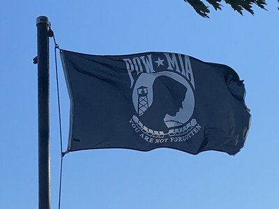 August 1, 2020 — POW-MIA Flag