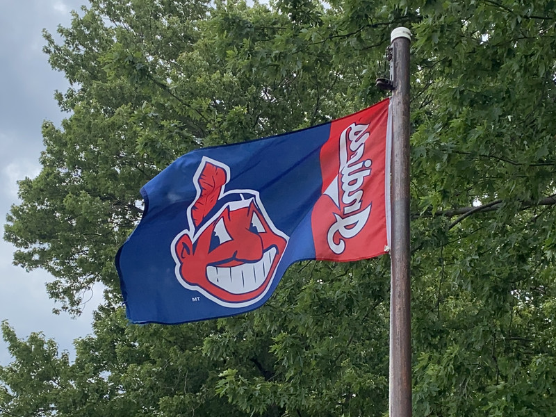 July 17, 1941 — Cleveland Indians Flag