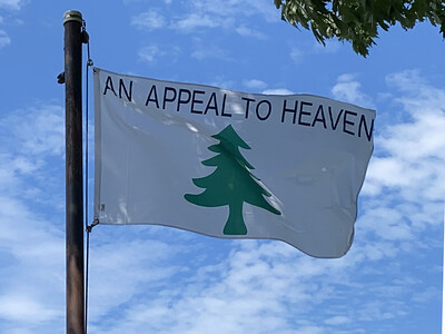 July 21, 1969 — An Appeal to Heaven Flag