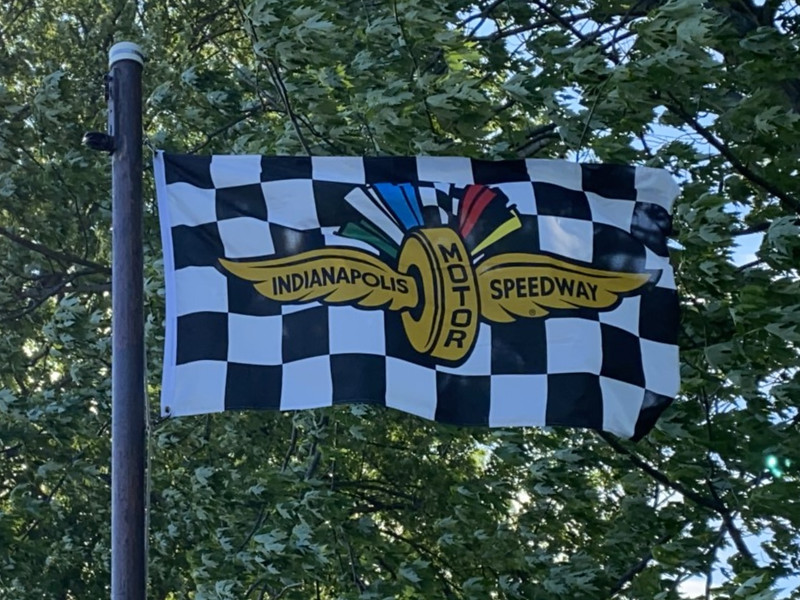 May 25, 2020 — Indianapolis Motor Speedway Flag
