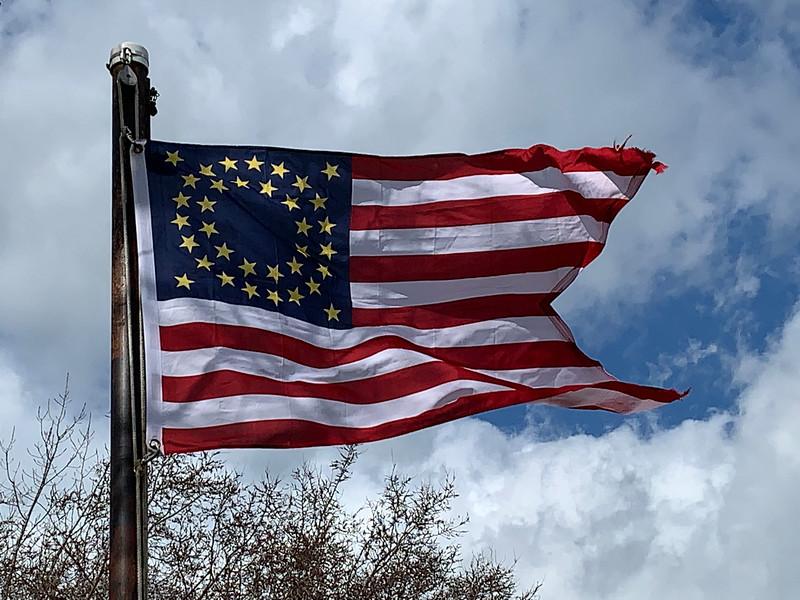 April 2, 2020 — U.S. Cavalry Flag