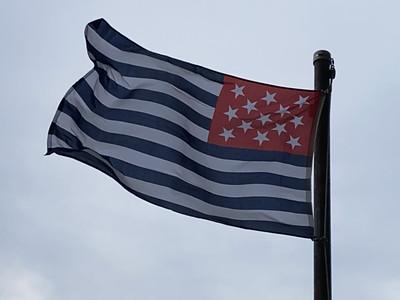 August 15, 2020 — Ft. Mercer Flag