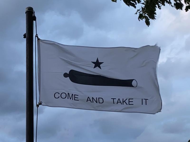 October 2, 1835 — Battle of Gonzales Flag