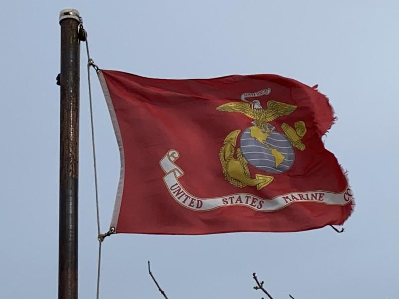 November 10, 1775 — U.S. Marine Corps Flag