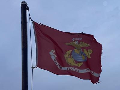 February 23, 1945 — U.S. Marine Corps Flag