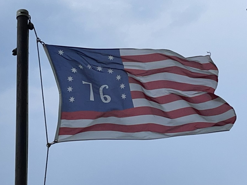 July 4, 1776 — Bennington Flag