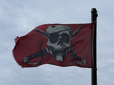 May 23, 1701 — Pirate Flag