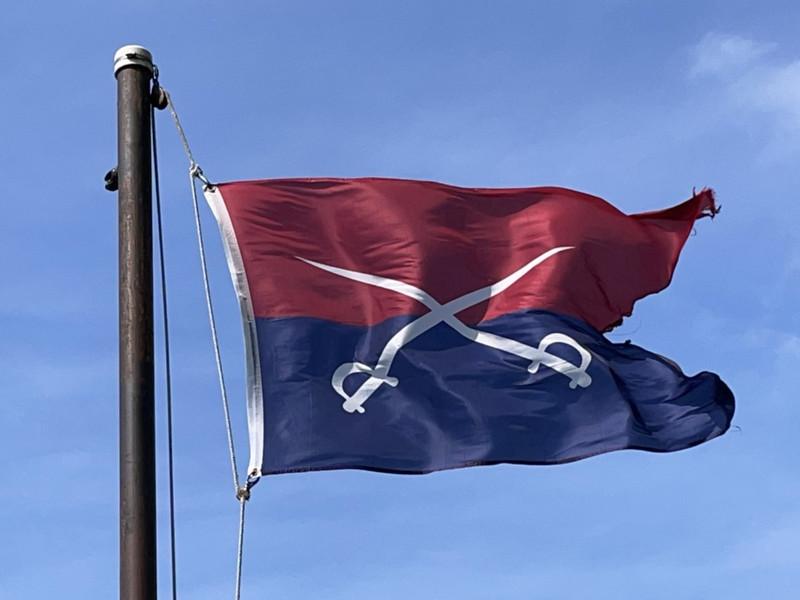 June 25–26, 1876 — 7th Cavalry Flag