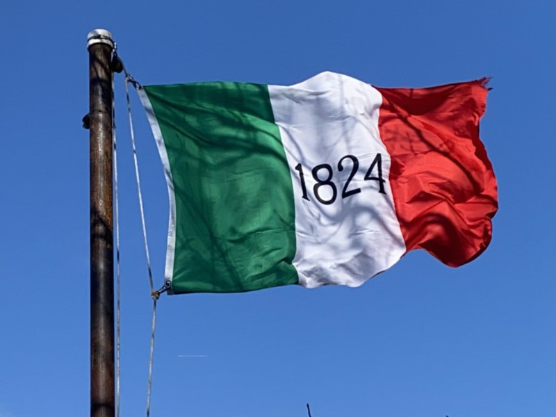 March 6, 1836 — Alamo Flag