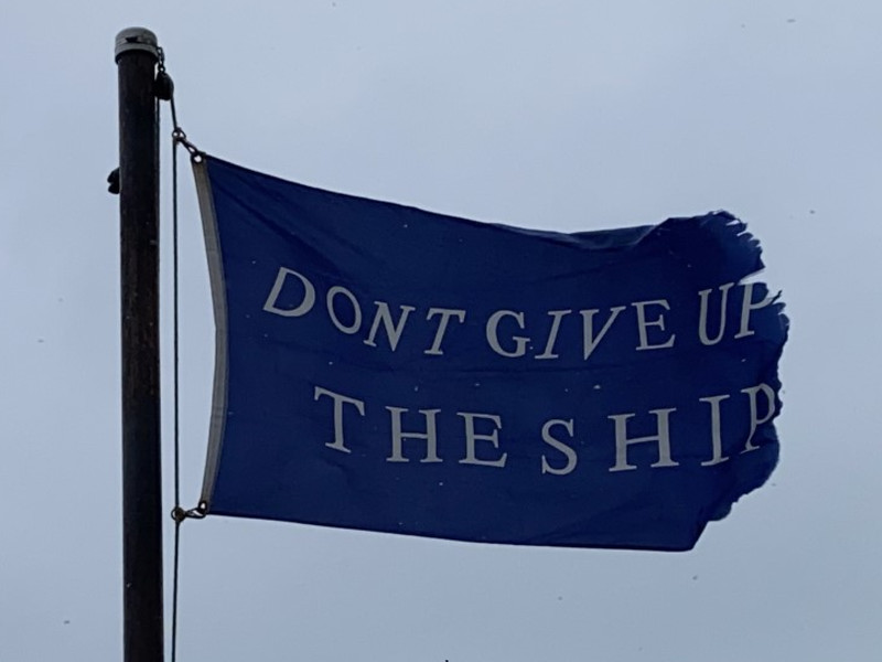 January 16, 2021 — Commodore Perry Battle Flag