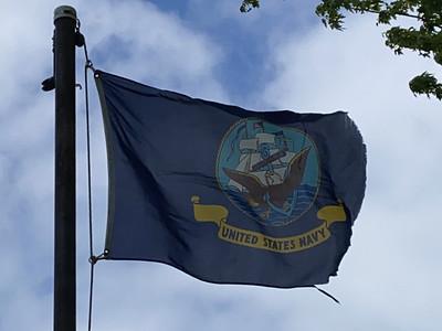 May 8, 1942 - U.S. Navy Flag
