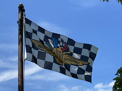 May 30, 2021 — Indianapolis Motor Speedway Flag