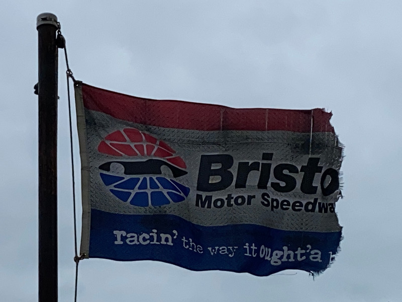 March 28, 2021 — Bristol Motor Speedway Flag