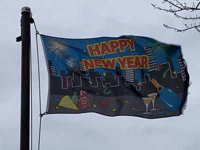January 1, 2021 - Happy New Year Flag