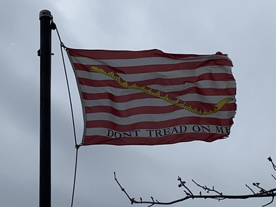 March 27, 1794 — Navy Jack Flag