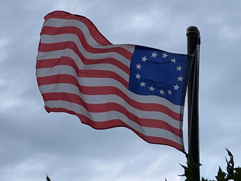 June 14, 1777 — Betsy Ross Flag