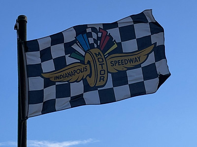 August 19, 1909 — Indianapolis Motor Speeday Flag