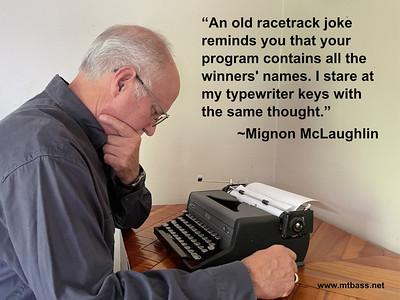 September, 2021 — Mignon McLaughlin