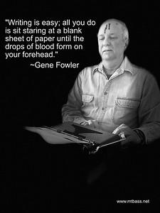 February, 2021 — Gene Fowler