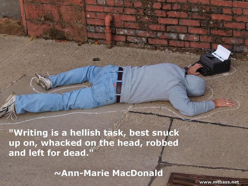 April, 2017 - Ann-Marie MacDonald