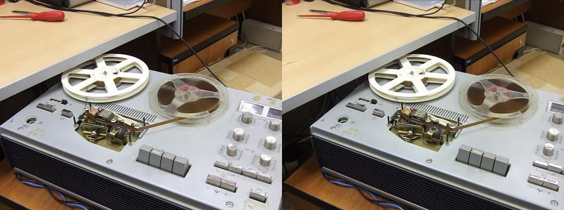 2011-01-26, Tape Recorder Elfa 201-3 Stereo at KK12
