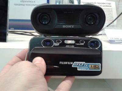 2013-06-23, Sony DEV-50V vs Fujifilm 3D W3 comparison