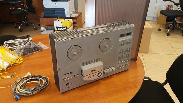 2015-04-30, Tape recorder Elfa 201-3 Stereo for sale