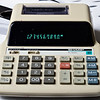 Sharp EL-1625. Compact printing calculator probably early 1990s.