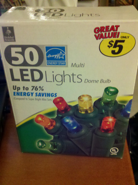 Original Christmas LED light string