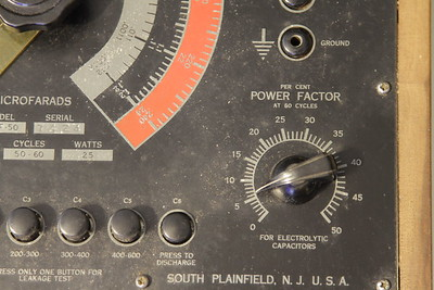 Cornell Dubilier BF-50 Capacitor Analyzer