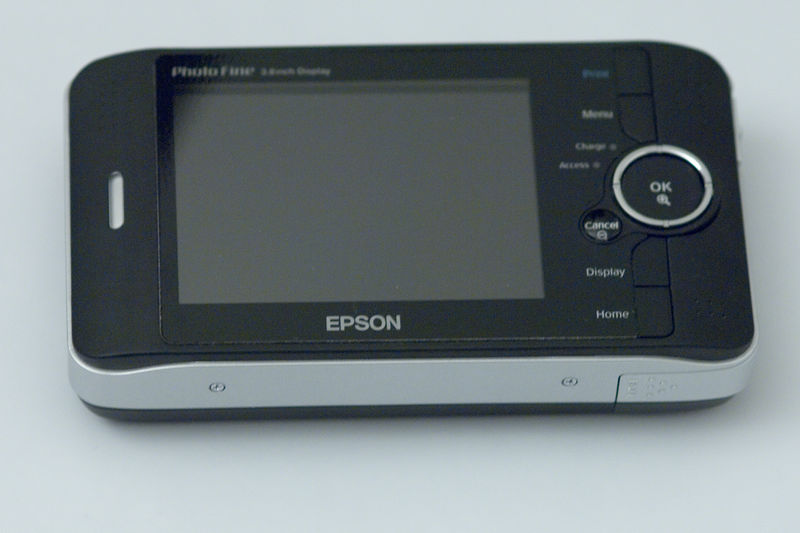 This is an Epson P-2000, it is equiped with a 40GB harddrive with about 35GB of usable space for storage of photos. For reference an Epson P-4000 contains a 80GB harddrive with about 75GB of storage space.<br /> This unit is about to be upgraded with a 100GB drive providing 95GB of usable space. (over 8000 12mp RAW photos)