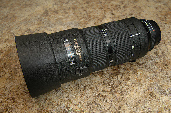 Nikon 80-200 AF-D ED f/2.8, 2 ring
