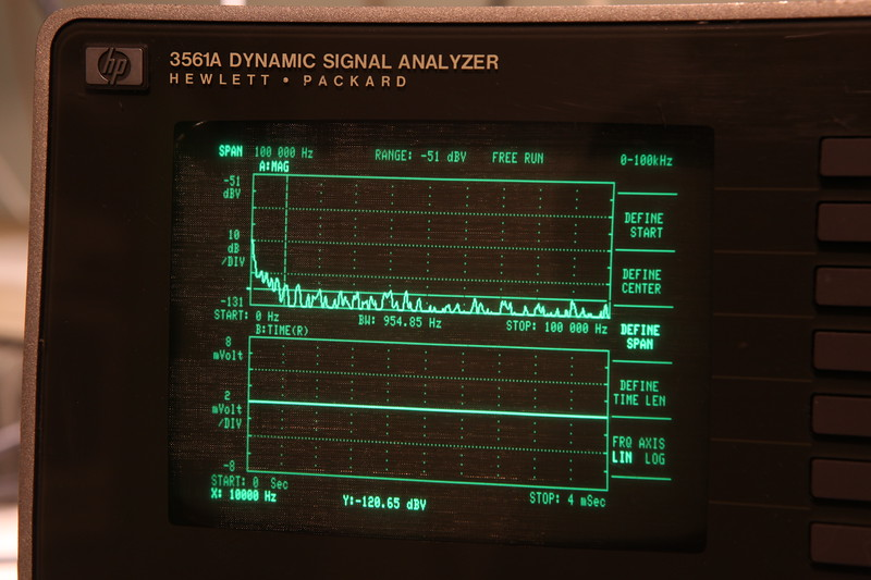 Hp 3561a dynamic signal analyzer service manual volume 1 $50. 00.