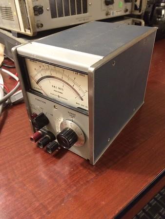 HP 403B AC Voltmeter