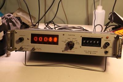 HP 5214L Preset Counter