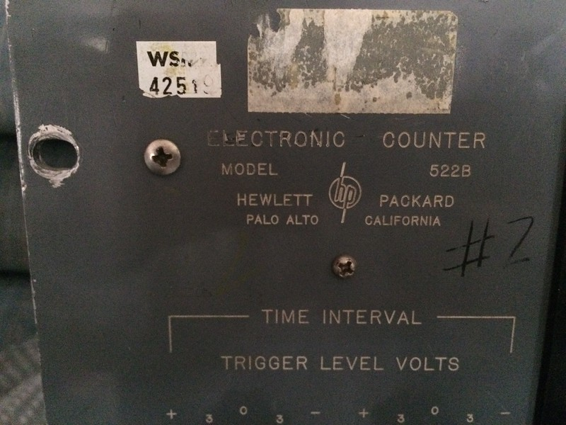 HP 522B Electronic Counter