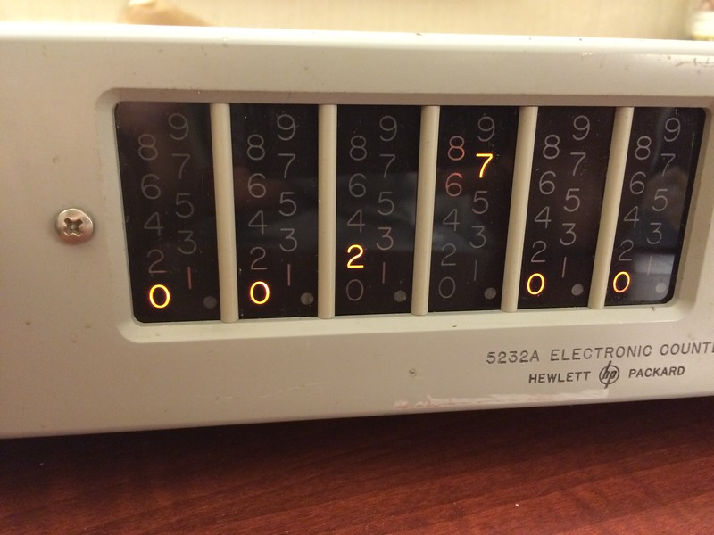 HP 5232A Electronic Counter