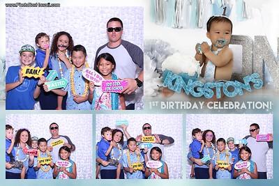 Kingston's 1st Birthday