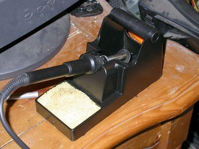 New soldering station
