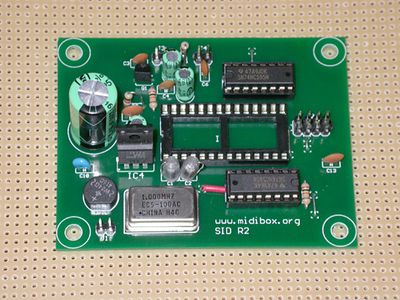 SID board without SID chip.