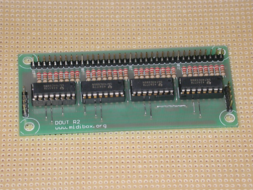 Digital Output module.  Mainly used for controlling LED's