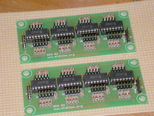 Digital input module.  Used for reading rotary encoders, pushbuttons, switches and other digital inputs.