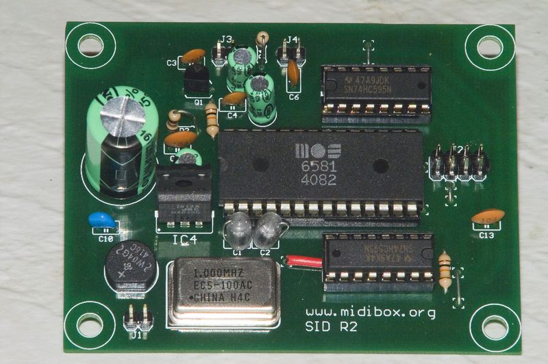 SID board with SID chip